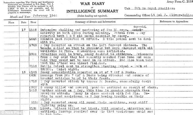 Rapporto di guerra